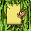 Vector clipart: monkey