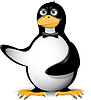 Vector clipart: penguin