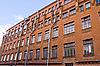 工业建筑红砖   免版税照片
