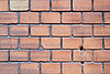 Old red brick wall | Stock Foto