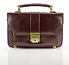 Brown business briefcase | Stock Foto