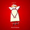 Vector clipart: Christmas angel