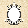 Oval frame | Stock Vector Graphics
