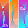 Vector clipart: abstract banners