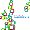 Vector clipart: abstract background of squares