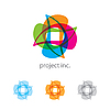 Vector clipart: abstract project logo