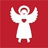 Vector clipart: angel
