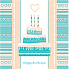 Vector clipart: congratulations happy birthday!