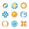 Vector clipart: corporate logo