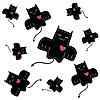 Vector clipart: devilish love