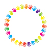Vector clipart: Hands as friendship sign