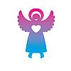 Векторный клипарт: ангел