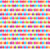 Vector clipart: people pattern
