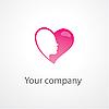 Vector clipart: heart logo