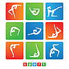 Vector clipart: Sports signs