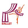 Векторный клипарт: балет