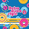 Векторный клипарт: ретро диско стиля