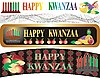 Photo 300 DPI: kwanzaa banners