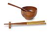 筷子和碗 | 免版税照片
