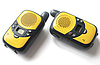 Yellow walkie talkie | Stock Foto