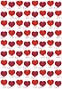 Vector clipart: valentines background with hearts
