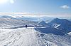Ski resort Palandoken | Stock Foto