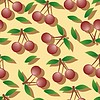 cherry - seamless pattern and abstract nature
