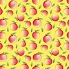 apple - seamless pattern and abstract nature background