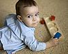 장난감 어린 소년 | Stock Foto