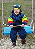 Boy on swing | Stock Foto
