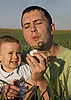 Photo 300 DPI: Dad and son