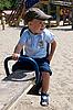 Photo 300 DPI: Boy on playground