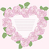 Vector clipart: romantic frame of roses