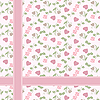Vector clipart: Valentineэы pattern with hearts and roses
