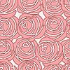 Векторный клипарт: Бесшовные розы