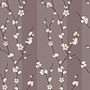 seamless pattern with sakura branches