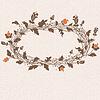 Vector clipart: Cute floral frame