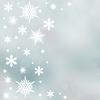 Christmas background of snowflakes | Stock Illustration