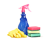 Photo 300 DPI: Cleaner, sponges and rubber gloves