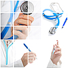 Collage. Concepto médico | Foto de stock