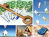 投资于房地产。商业拼贴。 | 免版税照片