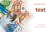 ID 3108337   Stethoscope and euro money   High resolution stock photo   CLIPARTO