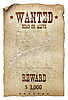 Photo 300 DPI: Wanted dead or alive