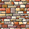 Vector clipart: color stone wall