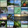 Maldives collage | Stock Foto