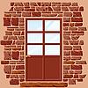 Векторный клипарт: дверь
