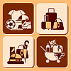 Vector clipart: accessories icons