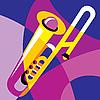 Vector clipart: trombone