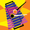 Vector clipart: xylophone