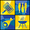 Vector clipart: barbecue